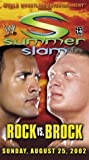 WWE SummerSlam 2002 - Rock vs. Brock [VHS]