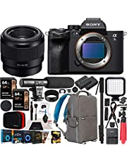 $3799 » Sony a7S III Full Frame Mirrorless Camera Body FE 50mm F1.8 Full-Frame Lens SEL50F18F ILCE-7SM3/B Bundle with Deco Gear Photography Backpack Case, Software and Accessories