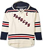 NHL New York Rangers Mark Messier Men's Player Lacer Name & Number Hoodie, Large, Multicolor
