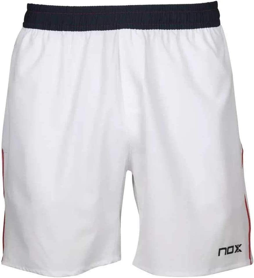 NOX Pantalon Corto Meta 10TH Anniversary Blanco