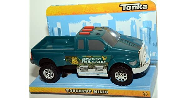 Amazon Com Tonka Toughest Mini Lights Sounds Fish And Game Truck