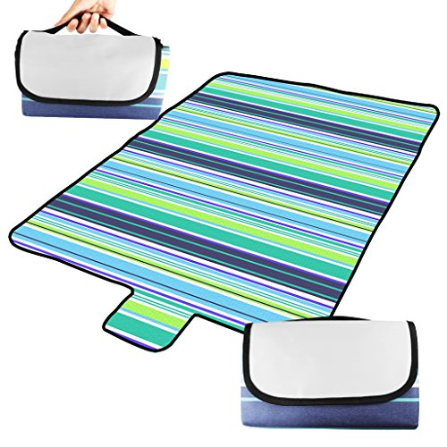 BIAL Picnic Blanket, Oversized Waterproof Extra Large Beach Blanket Portable Lightweight Lawn Blanket Compact Handy Tote Great Picnic Mat for Travel Camping,Outdoor Music Festivals