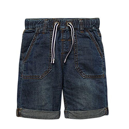 Boys Dark Blue Denim Jeans - 3