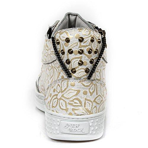 Rock Sportschuhe C3 M PS040 New Handmade Weiß Unisex 7STwTzq