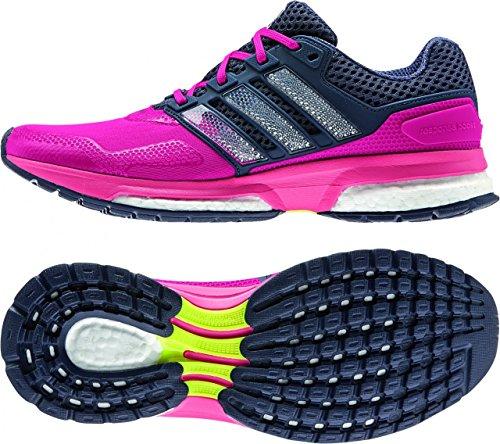zapatillas de running adidas response boost tf azul