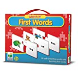 The Learning Journey Match It!-First Words Puzzle