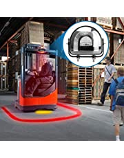 Fuguang LED Straight line Forklift Area Safety Light 8W Cree Blue/Red LED Work light Blue Zona Risk Danger Area Warning Light Warehouse Fork Forklift Truck Security Indicator Safety Light