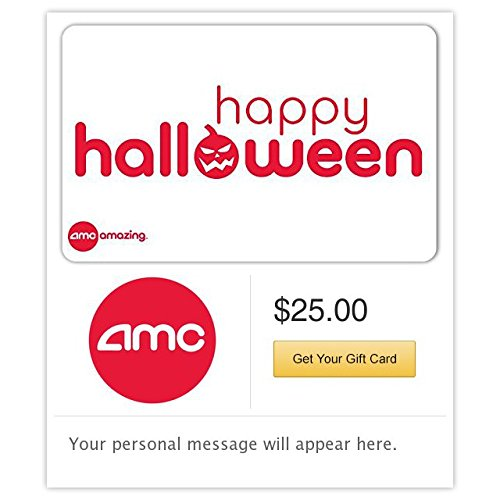 AMC Theatres Happy Halloween Gift Cards - E-mail Delivery