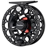 Piscifun Sword ‖ Light Weight Fly Fishing Reel with CNC-machined Aluminum Alloy Body 3/4 Black