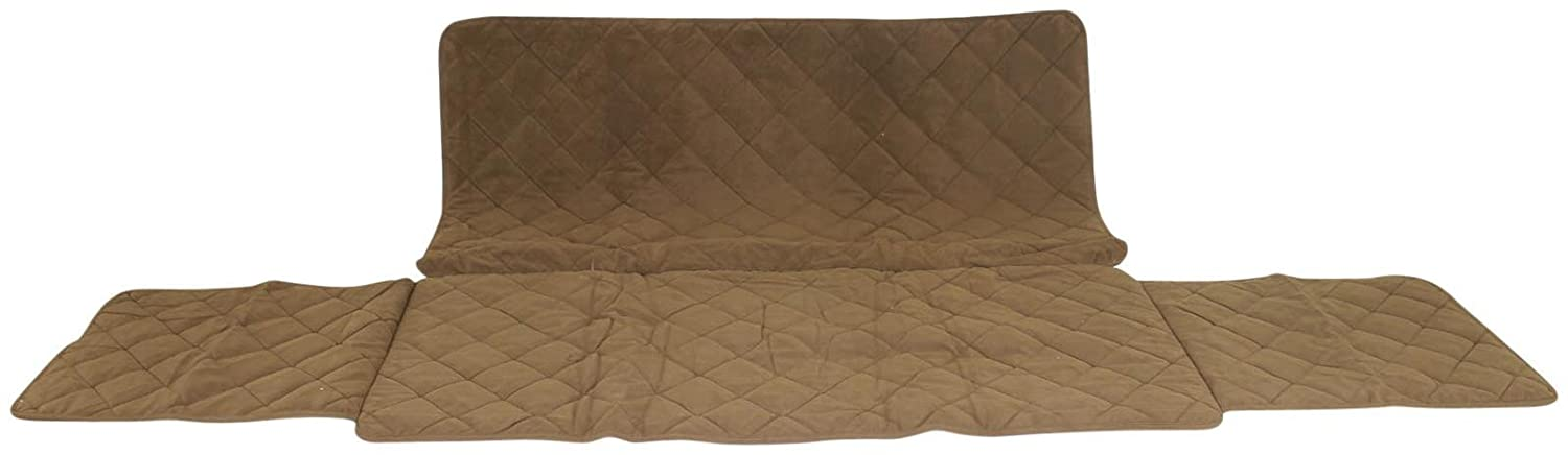 CPC Diamond Quilted Couch Predector, 60-Inch, Chocolate