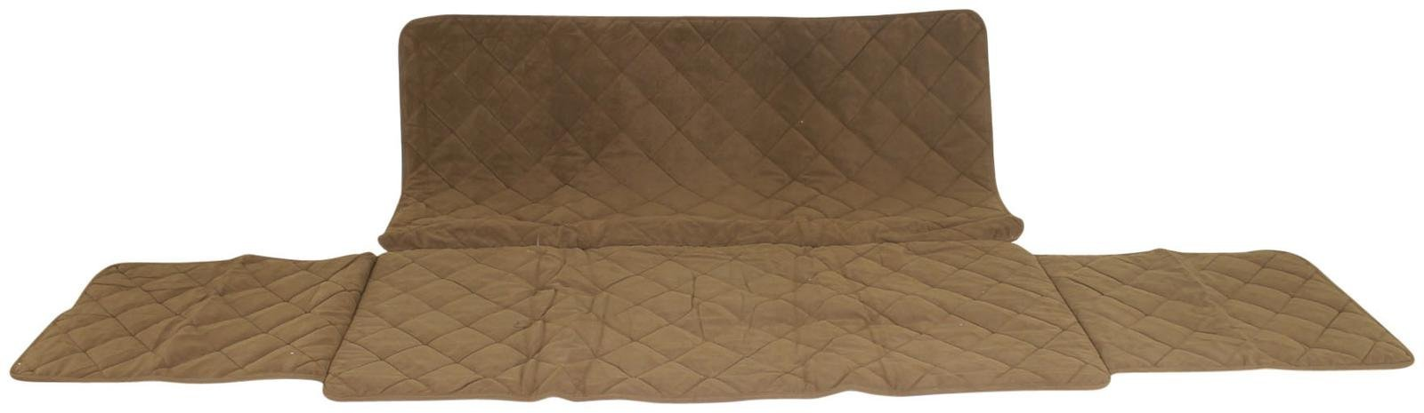 CPC Diamond Quilted Couch Protector, 60-Inch, Chocolate
