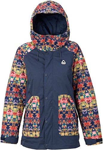 all Jacket, Kaleidoscope/Mood Indigo, Small (Burton Ladies Snowboard Clothing)