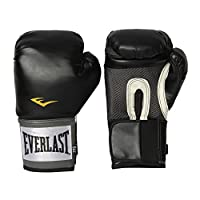 Guantes de entrenamiento Everlast Pro Style (negro, 12 oz.)