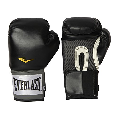 (Everlast Pro Style Training Gloves (Black, 12 oz.))