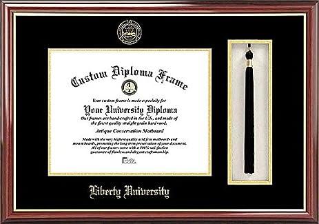 Liberty University Tassel Box and Graduate Diploma Frame - 2017 ...
