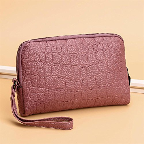Wallet Women Clutch Wristlets Bean Zipper Phone Holder Red Everpert Handbags Coin PU Leather zvdwqO