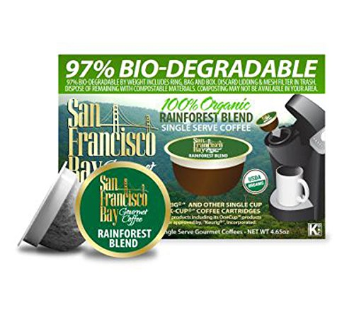 UPC 605349466656, San Francisco Bay Coffee OneCup 72 ct. Rainforest Blend