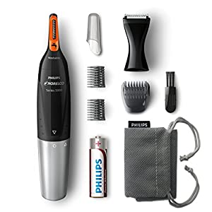Philips Norelco NT5175/49, Nose Hair Trimmer 5100,Washable Mens Precision Groomer for Nose, Ears, Eyebrows, Neck, and… 13
