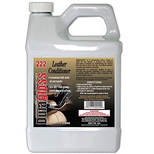 Duragloss 222 Leather Conditioner - 32 fl. oz.