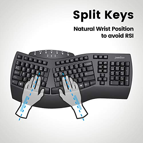 Wireless split keyboard
