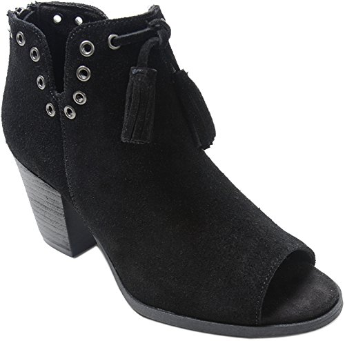 Minnetonka Womens Margot Bootie Black Size 9