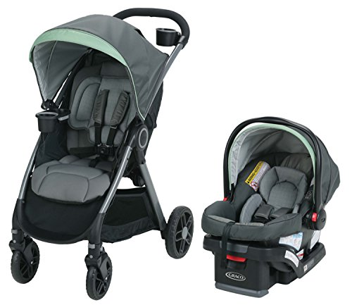 Graco FastAction Fold DLX Travel System, Landry