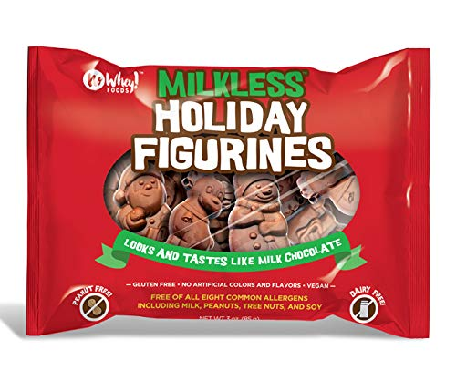 Milkless Holiday Figurines (Two Pack) - Milk Free, Nut Free, Gluten Free, Soy Free, Vegan