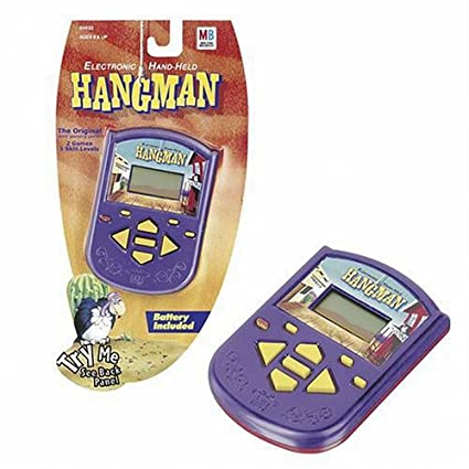 Amazon electric hand held hangman toys games electric hand held hangman solutioingenieria Image collections
