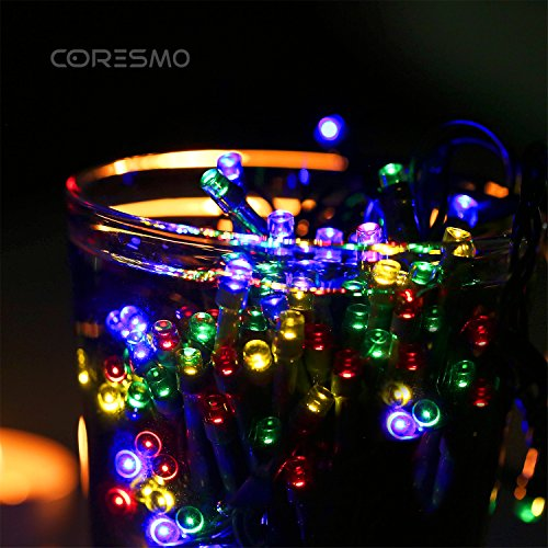 Coresmo Solar Outdoor String Light Multi-color Christmas - Import It All