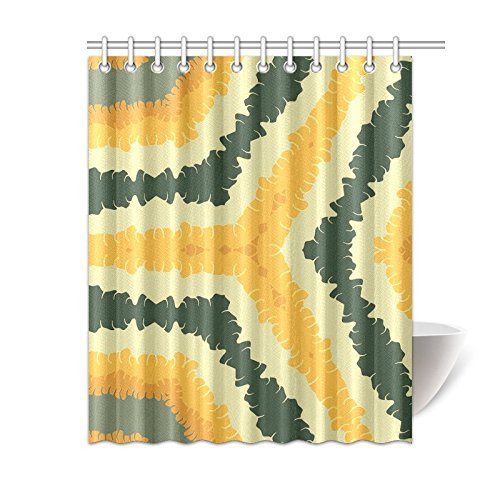 Amazon Happy More Custom Autumn Feathered Ribbons Bathroom Waterproof Fabric 60x72 Inch Shower Curtain Home Kitchen