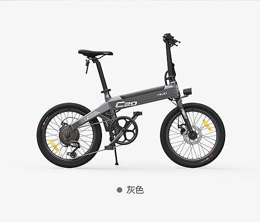 Bicicleta eléctrica plegable con iluminación frontal LED para ...