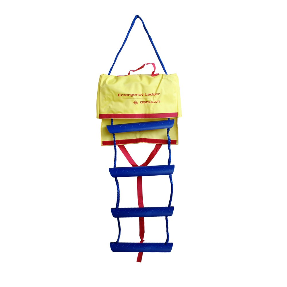 de Osculati 1140 o 1340 mm Escalera de rescate en las longitudes 940