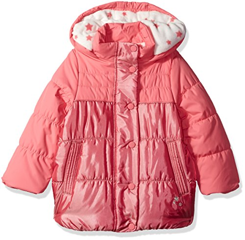 Osh Jacket Little Hood Heavyweight Kosh Rosie Pink with Removeable Girls' APqrnA7wxa
