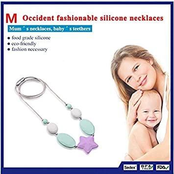 Baby Teething Toys Soft Teethers BPA Free,2 Pack Infant Chewing Pendants Nursing Toys,Realistic Looking Mushroom for Infant Toddler Teething Chewing Biting Molar Stick Green,Pinks