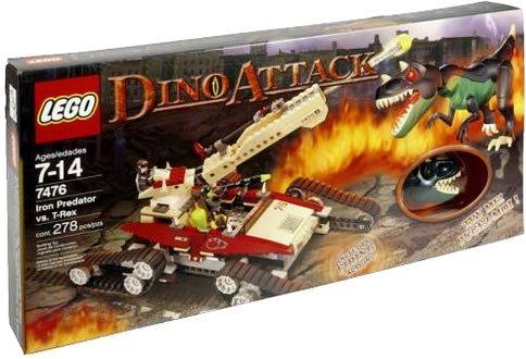 LEGO Regodaino Attack Iron Predator vs.T Rex 7476 (Japan Import)