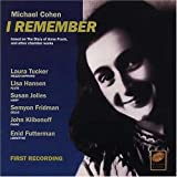 I Remember - based on The Diary Of Anne Frank
