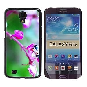 For Samsung Galaxy Mega 6.3 - Plant Nature Forrest Flower 72 /Caja protectora de pl???¡¯????stico duro de la cubierta Dise???¡¯???¡Ào Slim Fit/ - Super Ma