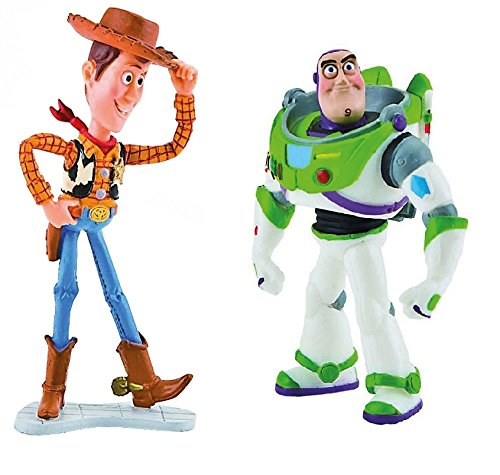 Disney's Toy Story Buzz Light Year and Woody Birthday Party Cake -