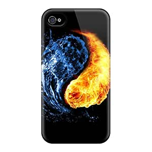 Excellent Hard Phone Case For Samsung Galaxy S4 Mini With Custom Attractive Yin Yang Air Pattern AlainTanielian