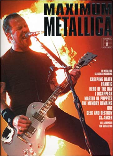 Maximum Metallica-Guitar Tab Edition-Music Book: Amazon.co.uk: Dave ...