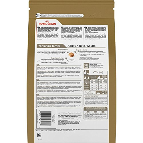 51zVN8vSB-L ROYAL CANIN BREED HEALTH NUTRITION Yorkshire Terrier Adult dry dog food, 10-Pound