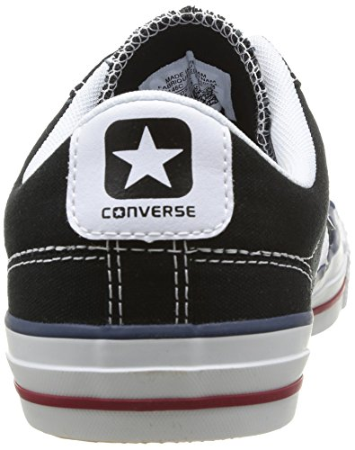 Adulte Canvas Sneaker Core Converse Nero Noir Unisex adulto Star 8 Blanc Ox Player 6wqCZCx
