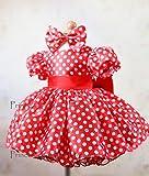 Minnie Dress Pageant Dress, birthday dress, Halloween dress PD114