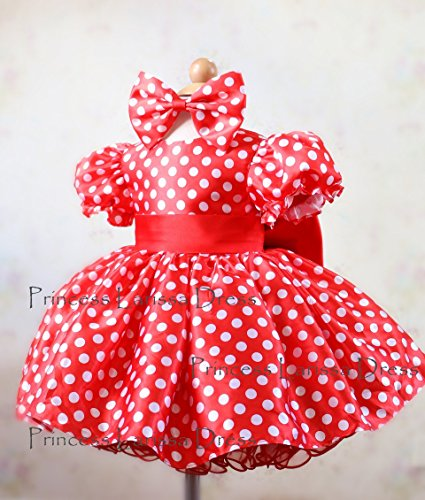 Minnie Dress Pageant Dress, birthday dress, Halloween dress PD114 by Little Gracious