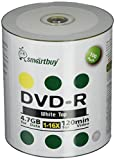 Smart Buy 100 Pack DVD-R 4.7gb 16x White Top