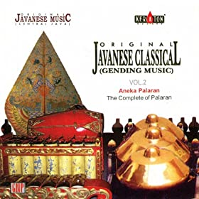 original javanese music javanese classical vol 2 aneka palaran april