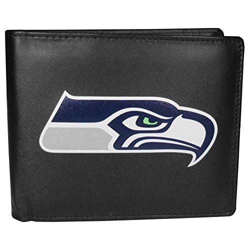 Siskiyou NFL Seattle Seahawks Bi-Fold Wallet Logo, Large, ()