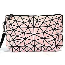 PU Zipper Women Makeup Bag Cosmetic Tools Bag Organzier Case Multiple Pockets Beemean