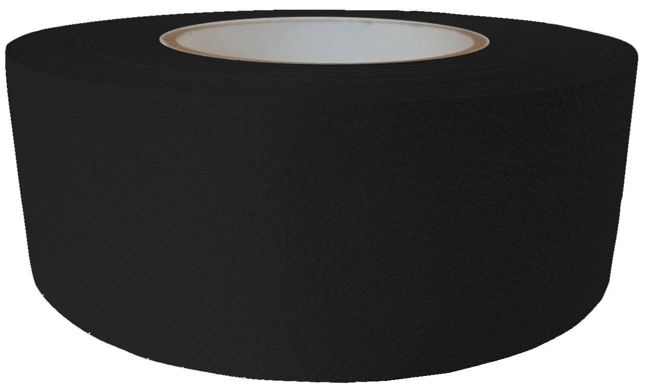 ifloortape Barefoot Friendly Rubberized Anti Slip Tape 2 Inch x 30 Foot Roll - Black