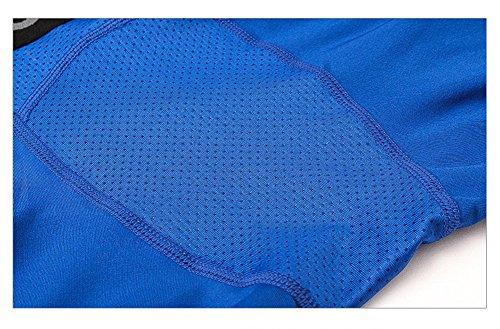 (ランバオシー) Lanbaosi メンズ ショート スポーツタイツ メッシュ ショーツ コンプレッションウェア [UVカット?吸汗速乾?通気] パワーストレッチ アンダーウェア インナー オールシーズン